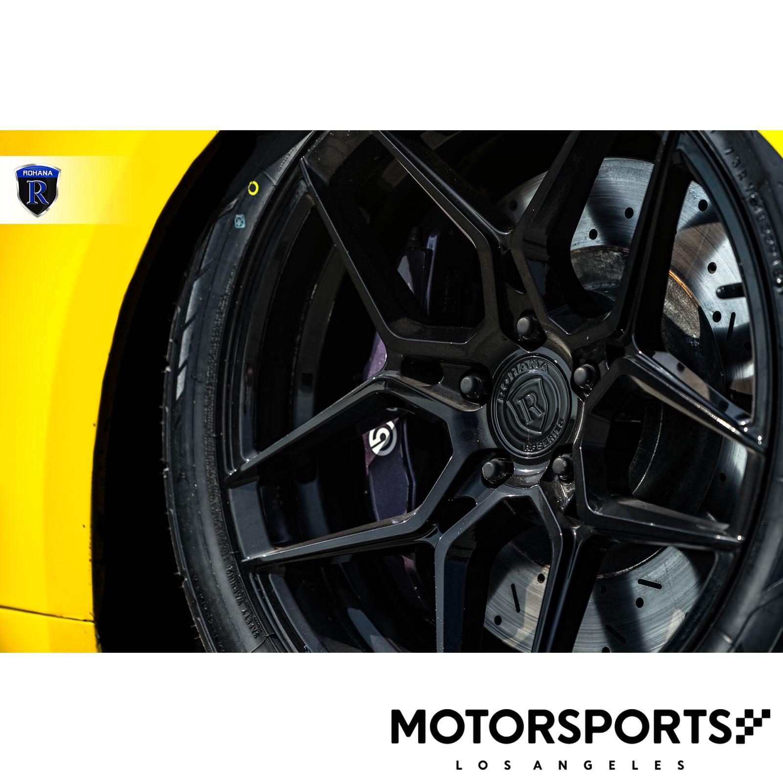 "20"" Rohana RFX11 Gloss Black Wheels For Acura ILX TLX TSX"
